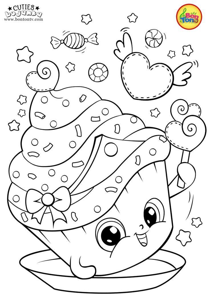 Cuties Coloring Pages For Kids Free Preschool Printables Slatkice Bojanke Malvorlagen Bojank Kinderfarben Malvorlage Einhorn Malvorlagen Tiere