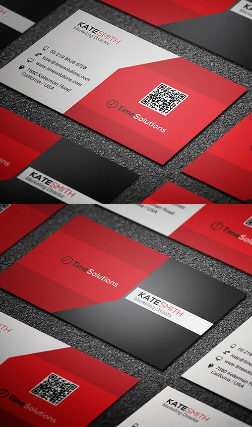 Clean Business Card #businesscards #businesscarddesign #psdtemplates #corporatedesign