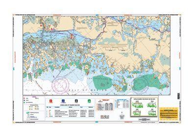 Waterproof Charts - Fishing Charts for Carolinas/Georgia Region - Model 97F