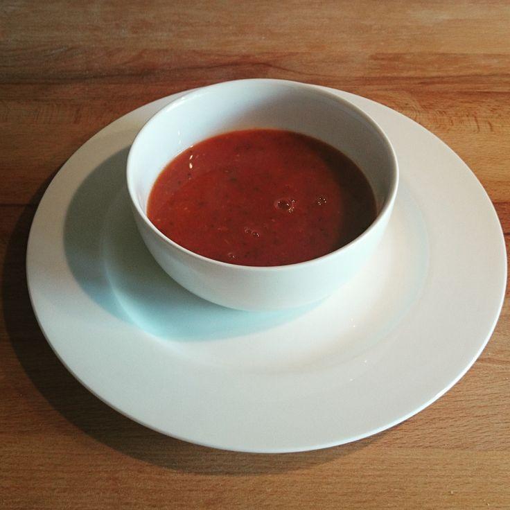 Tomaten-venkelsoep