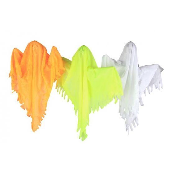 Hangend spook decoratie 50 cm. Halloween decoratie spook van ongeveer 50 x 40 cm…