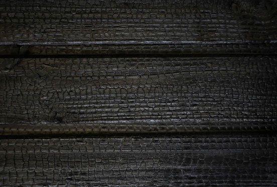 bois brul noir de noir douglas architecture pinterest noir de noir brule et bois brul. Black Bedroom Furniture Sets. Home Design Ideas