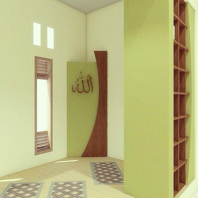 Furniture Mushola Rumah Minimalis