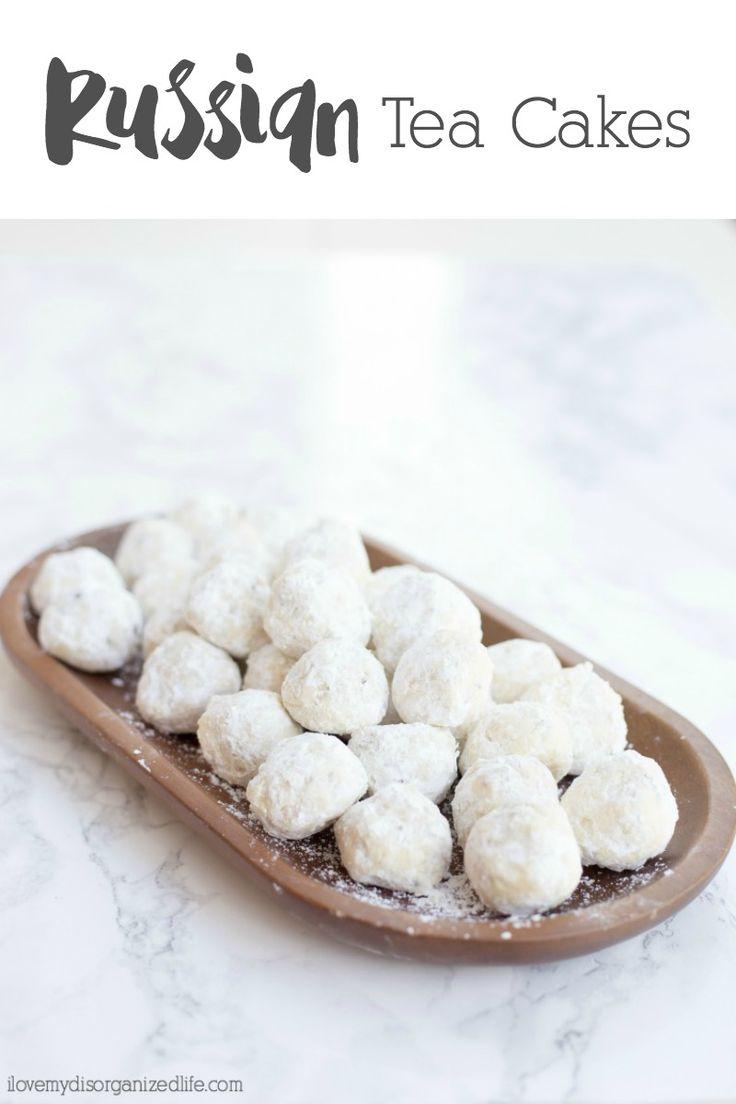 Spoonful of sugah almond polvorones aka russian tea cakes mexican - Classic Russian Tea Cakes