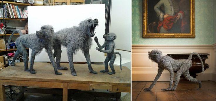 Les plus belles sculptures animales signées Kendra Haste