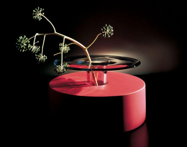 ettore sottsass glass exhibition venice il vetro designboom