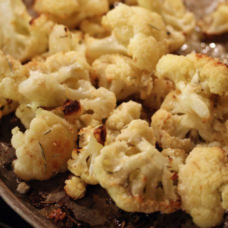I am always looking for creative ways to get my kids to eat their vegetables! This Parmesan Roasted Cauliflower recipe is definitely a hit with kids of all ages!