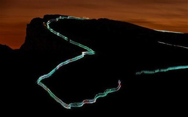 Une randonnée lumineuse à travers les collines d'Édimbourg