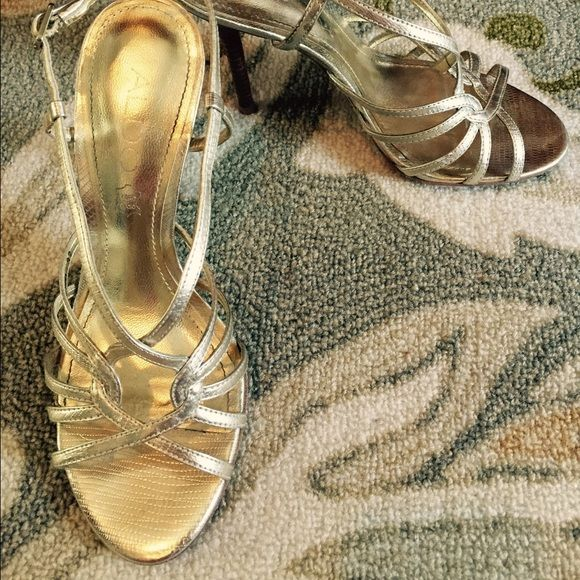 Aldo - gold party heels 👠👠👠 These are from Aldo! Worn a few times to weddings and engagement parties. In great shape!!! ALDO Shoes Heels