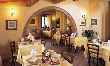 A stay at Montali in Italy's Umbrian hills was enough to make up for 20 years of vegetarian holiday disappointments, says Mark Oliver.