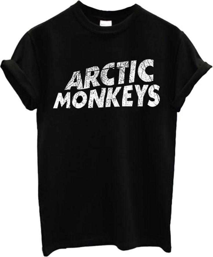 New Arctic Monkeys T-shirt Rock Band (M, Black): Amazon.fr: Vêtements et accessoires