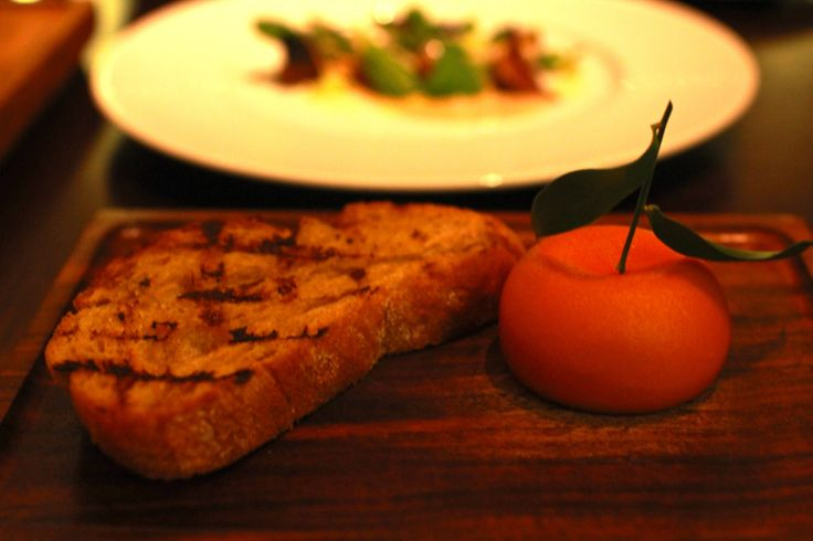 The Meat Fruit. At Diner by Huston Blumenthal - London