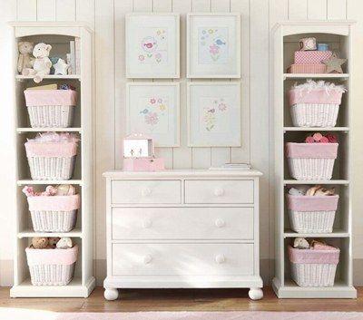 ©Pinterest - Decoração do quarto do bebê - organização