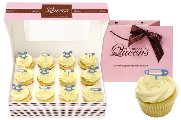 Baby Boy Gifts Melbourne : Best images about cupcake gift boxes on