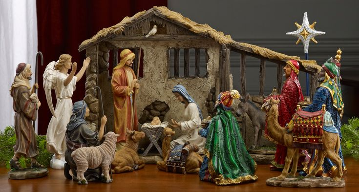 Buy Queens Of Christmas 7 Inch Real Life Nativity