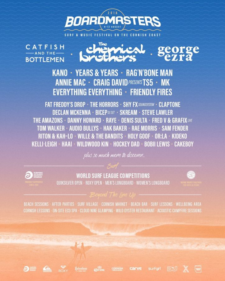 Boardmasters Festival At Fistral Beach & Watergate Bay