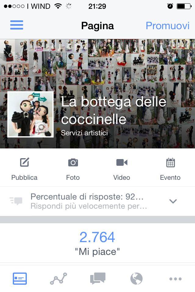 Cercatemi alla mia pagina Facebook La bottega delle coccinelle #fimo #amore #matrimonio #bomboniere #battesimo #love #weddingcake #wedding #coccole #fattoamano