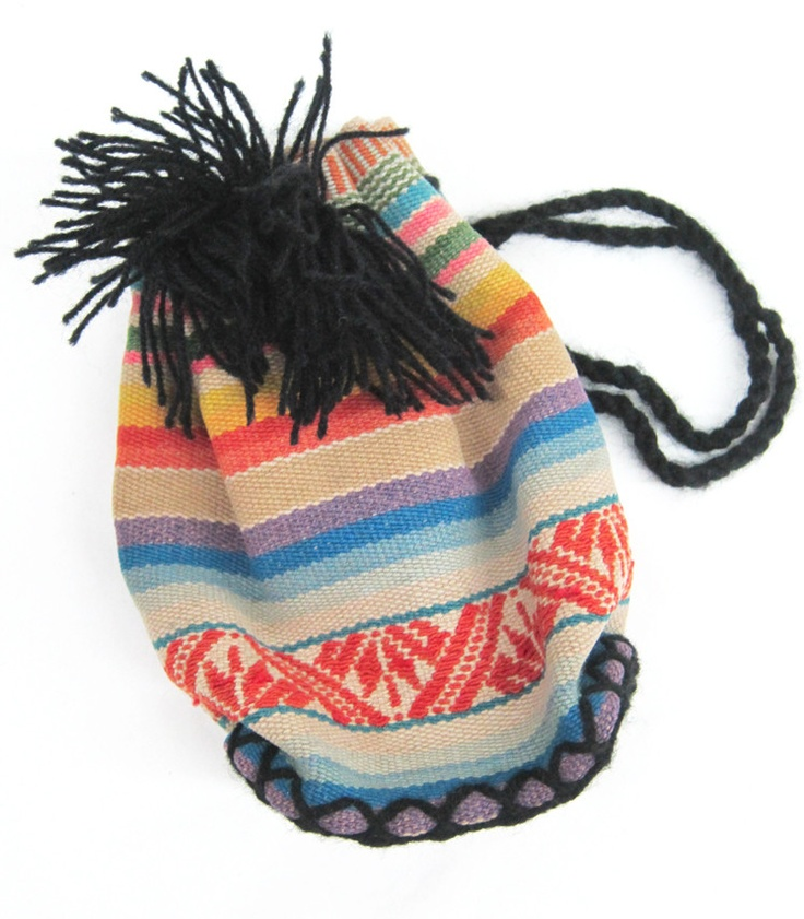 Peruvian Bucket Bag