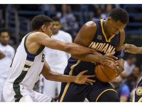BULLS vs PACERS   Michael Carter Williams Buries The Triple  Dec 30   16 17 NBA Season