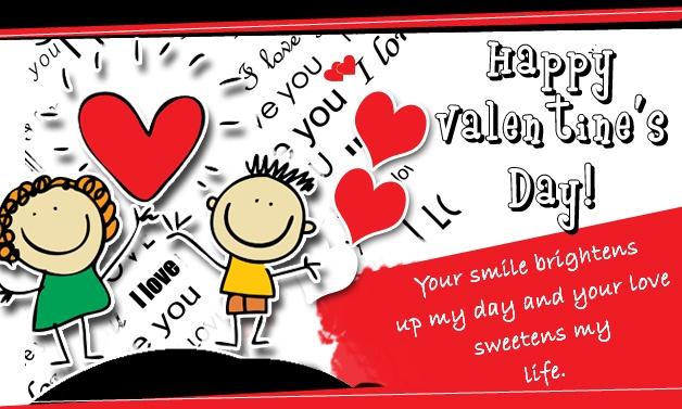 happy valentines ecard greetings