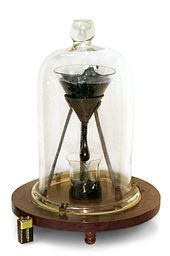 The pitch drop experiment is a long-term experiment which measures the flow of a piece of pitch over many years. Pitch is the name for any of a number of highly viscous liquids which appear solid, most commonly bitumen. At room temperature, tar pitch flows at a very slow rate, taking several years to form a single drop. Started in 1927 and still running