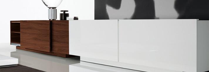 Kasten dressoirs wandkasten boeken tv kasten modern design | Lineo