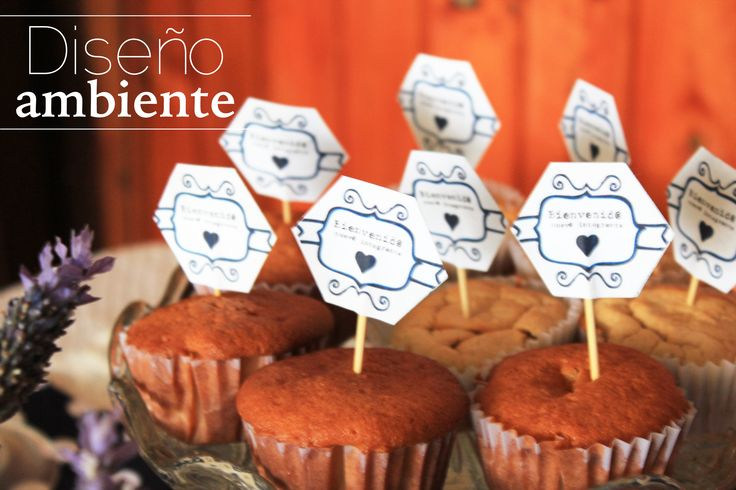#Party #Baby #Toppers www.disenoambiente.cl