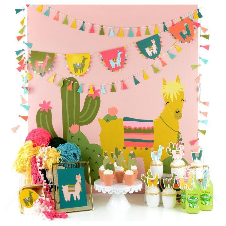 fiesta birthday cactus birthday crown girl cactus party whole llama fun fiesta birthday cactus theme birthday party llama birthday