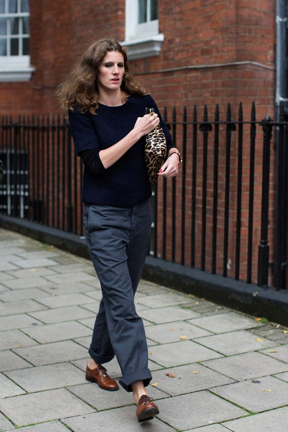On the Street….In Line at J.W. Anderson Part II, London - The Sartorialist