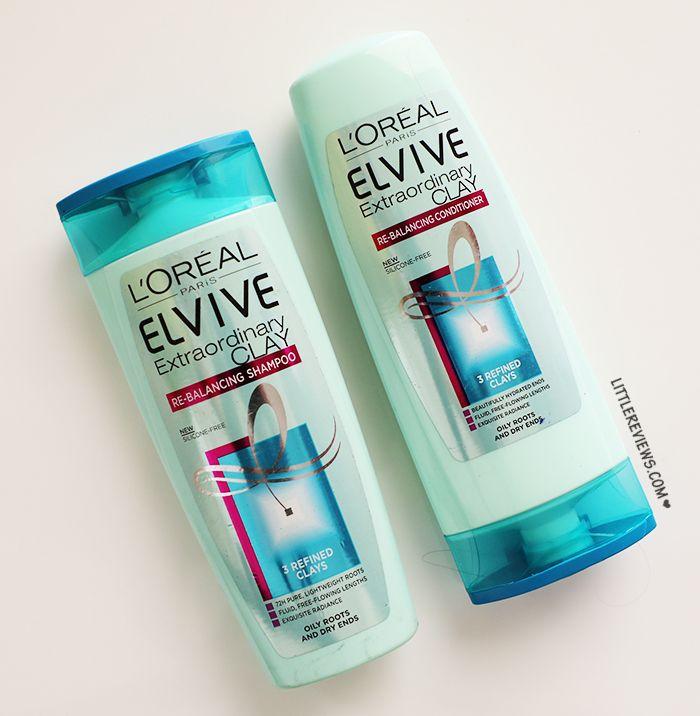 L'Oreal Paris Elvive Extraordinary Clay Shampoo and conditioner