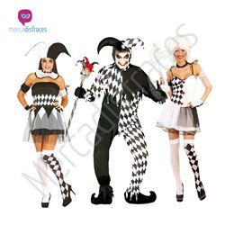 Disfraces para grupos Arlequines En mercadisfraces tu tienda de disfraces online, aquí podrás comprar tus disfraces para Carnaval o cualquier fiesta temática. Para mas info contacta con nosotros http://mercadisfraces.es/disfraces-para-grupos/?p=7