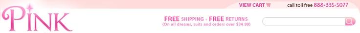 Pink princess.com  Precious girls & boys clothes for special occasions
