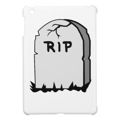 Rip Head stone Case For The iPad Mini - stones diy cyo gift idea special
