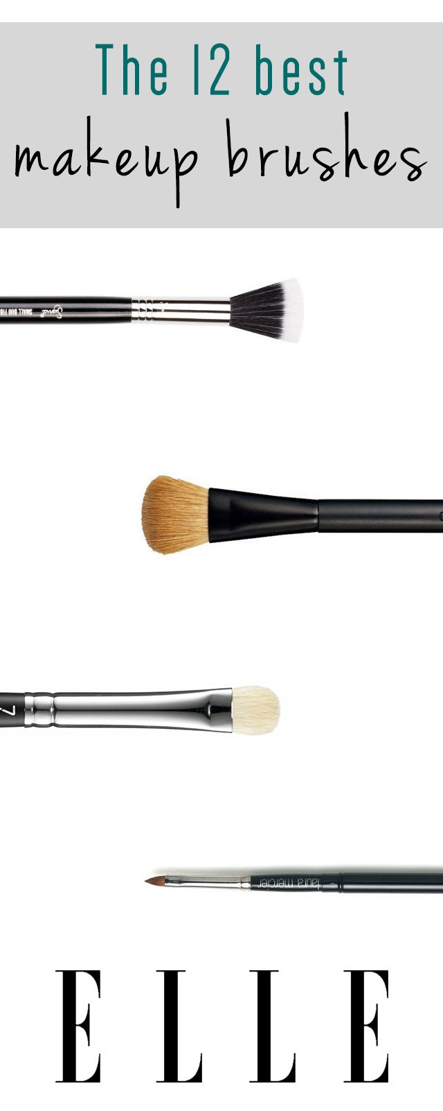 The 12 best makeup brushes.