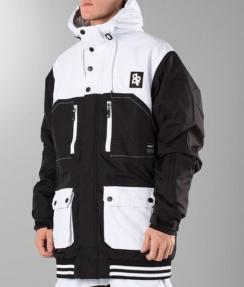 Dope - Aphex Snow Jacket Black/White - Ridestore.com