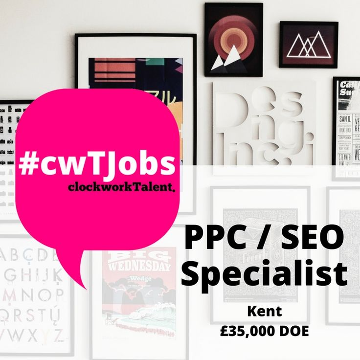 PPC / SEO Specialist needed to join a RAR Recommended Digital Agency!  You will deliver customer and company digital marketing strategies via PPC and SEO; drawing on your wealth of knowledge to provide customers with a fantastic level of service and solutions. Based on the Sussex / Kent Border, Salary Upto £35k!  Apply: http://www.clockworktalent.com/digital-marketing-jobs/view/ppc-seo-specialist-kent-sussex