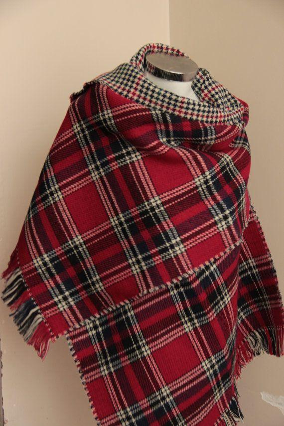Blanket Scarf Blanket Scarves Plaid Tartan Scarf Soft Double