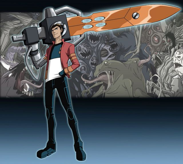 Cartoon Superheros: Generator Rex