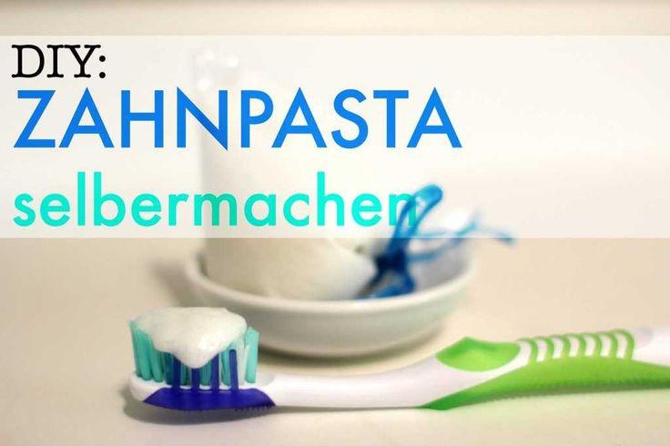 Natürliche Zahnpasta selber machen | ROHTOPIA ✰