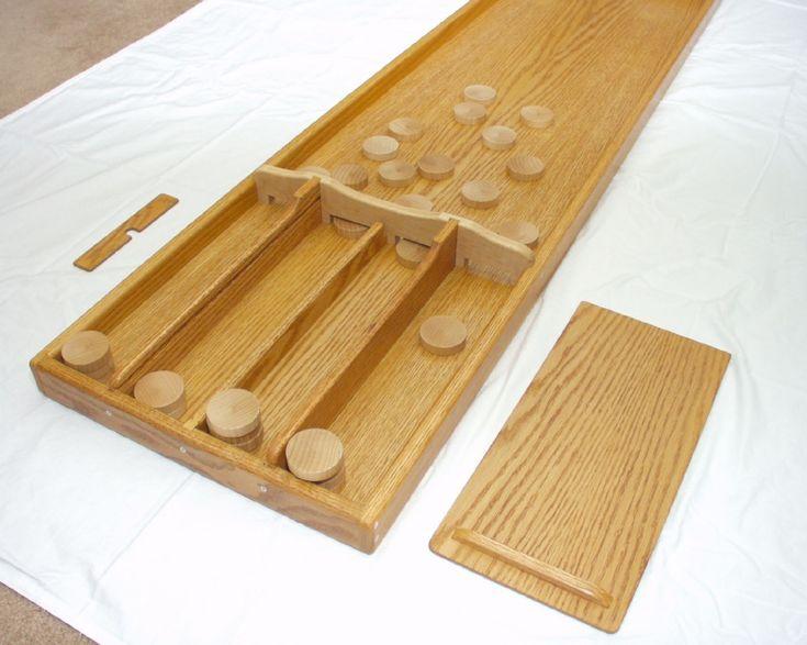 Dutch shuffleboard (sjoelbak)