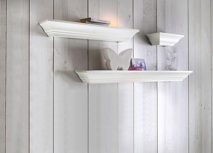 Полка. Практичная подставка и декоративное украшение одновременно! Из высококачественного среднеплотного картона с кремовой лакировкой.   #quelle #trends #fashion #style #brands #lifestyle #home