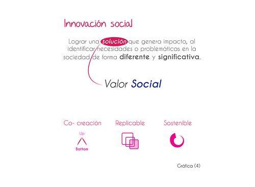 ¿Qué es innovación social? Innovación social   BLM   Javier Francisco Silva,  Santiago Restrepo