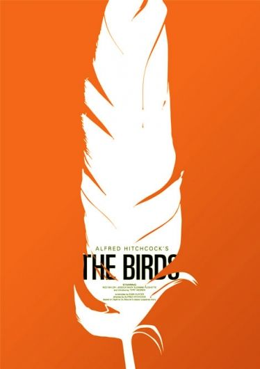 the_birds.jpg (image): Poster Frame-Black, Saul Bass, Saulbass, Birds Of Paradis, Alfred Hitchcock, Graphics, Feathers, Film Poster, Movies Poster Design