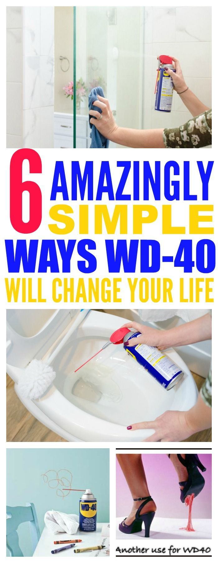 6 Ways Using WD-40 Around The House Will Change Your Life - That Vintage Life