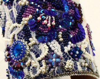 Articoli simili a A mano artigianali perline braccialetto - stile Sundance - Beadweaving - Beadwoven - Taos su Etsy