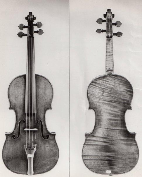 Violin by J.B. Vuillaume, 1855