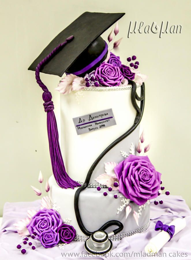 Congratulations graduation, Doctor! - Cake by MLADMAN