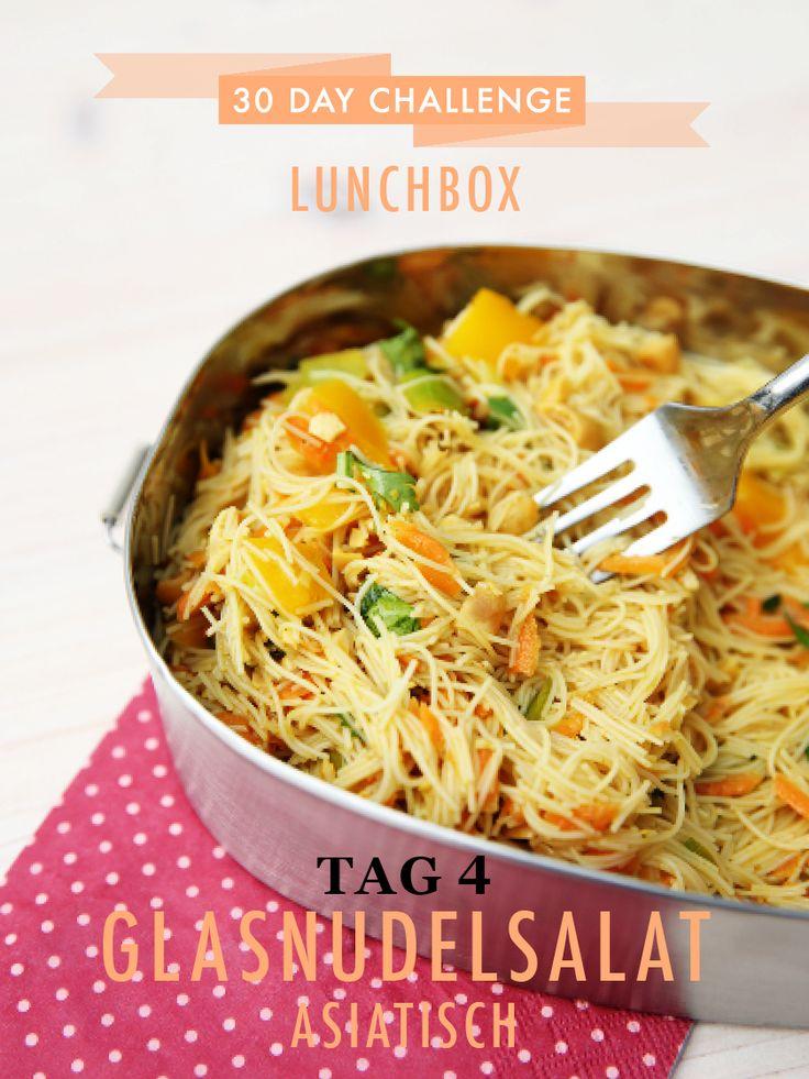 30 day challenge – heute in der Lunchbox: asiatischer Glasnudelsalat