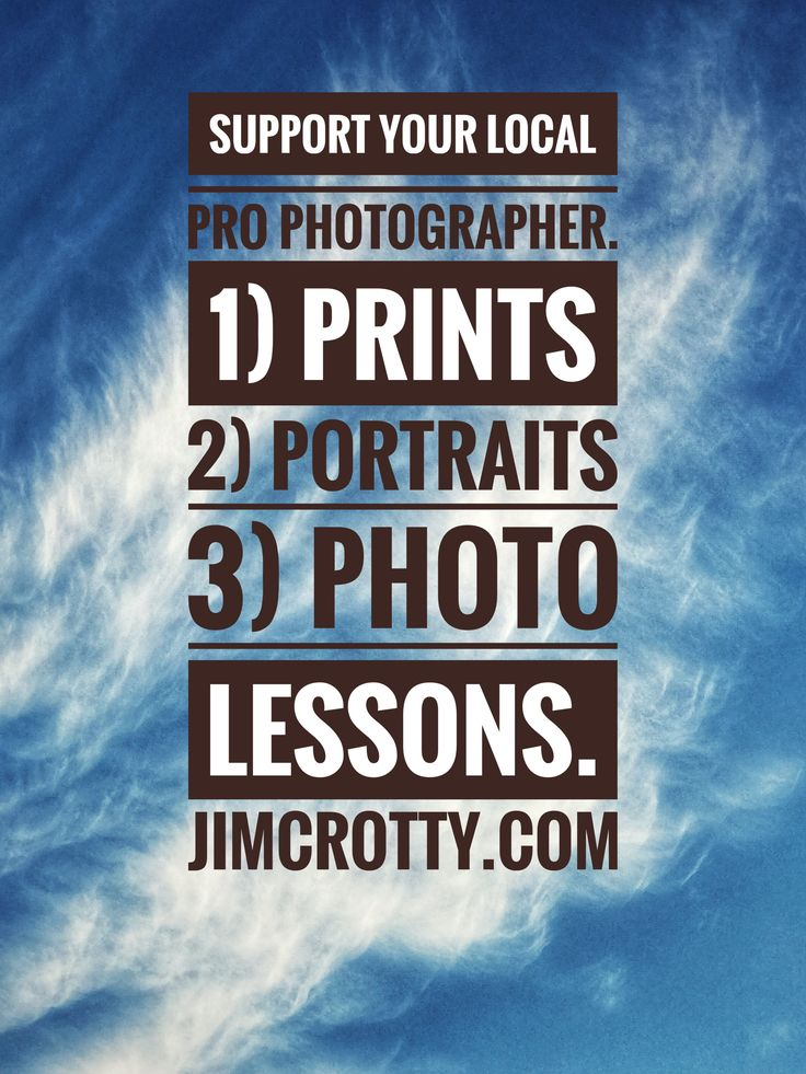 Give the gift of photography and support your local photographer. Buy prints, schedule a portrait session, purchase a photography lesson. jimcrotty.com #dayton #ohio #photographer #photography #buylocalart