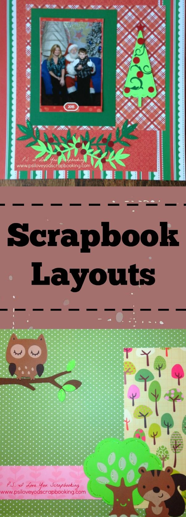 Scrapbook Layouts and Page Layout Ideas are always in demand with scrapbookers.  We have tons of  photos, but don't have have enough ideas how to get them into scrapbook albums.  Learn how to get lots of photos on one page and different ways to decorate your pages.